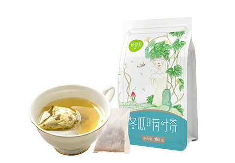 冬瓜荷叶茶