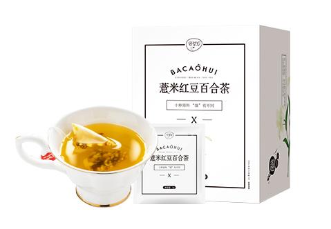 薏米红豆百合茶
